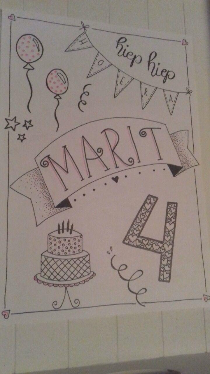 Handlettering * idee uitnodiging - Tekenen | Pinterest - Verjaardag ...