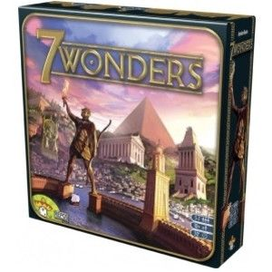 <youtube>KDASRm7cS3s</youtube> <i>Winner of the 2011 Kennerspiel des Jahres (Enthusiasts Game of the Year) Award.</i> You are the leader of one of the 7 great cities of the Ancient World. Gather resources, develop commercial routes and affirm your military supremacy. Build your city and erect an architectural wonder which will transcend future times! 7 wonders is a simple and addictive game for the whole family. In 30 minutes you can raise a complete civilization and build the greatest…
