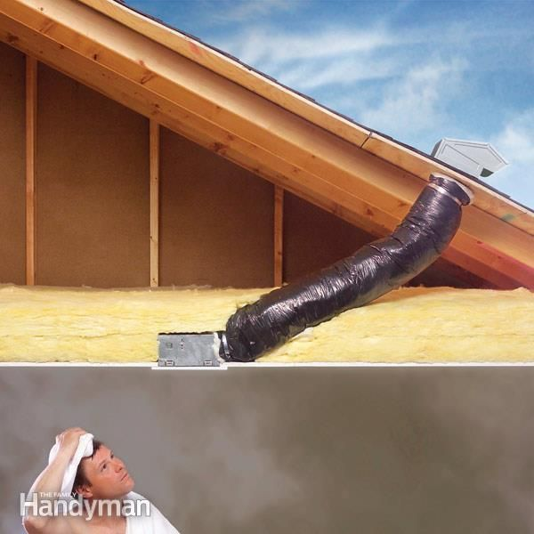 How to Repair a Bathroom Fan | Bathroom exhaust fan, Diy ...