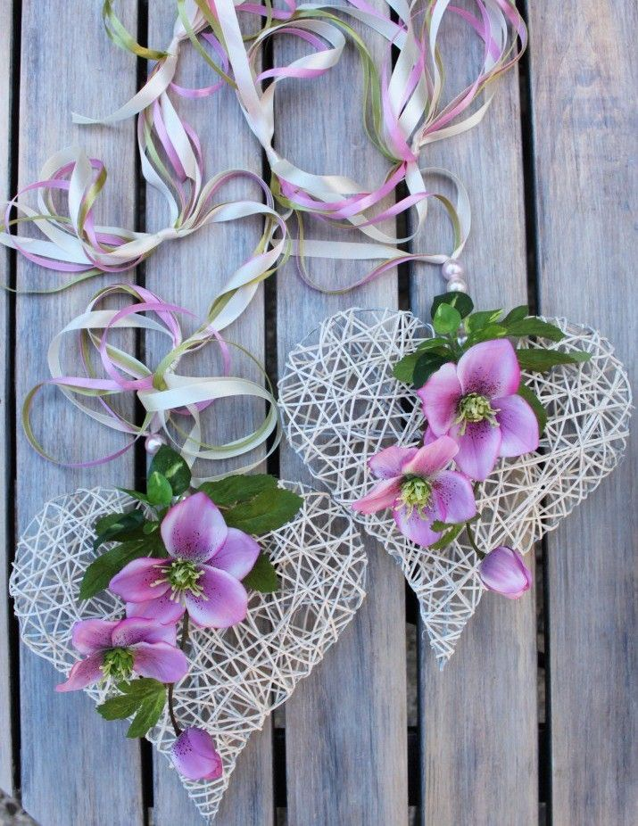 Serce Z Wikliny Papierowej Floral Wreath Hearts And Roses Wreaths