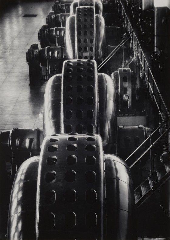 Margaret Bourke White, Niagara Falls Power Company, 1928
