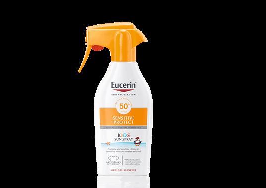 Eucerin Kids Sun Spray Sensitive Protect Fps 50 Protector Solar Para Ninos Eucerin Protector Solar En Spray Protector Solar Quemaduras Solares