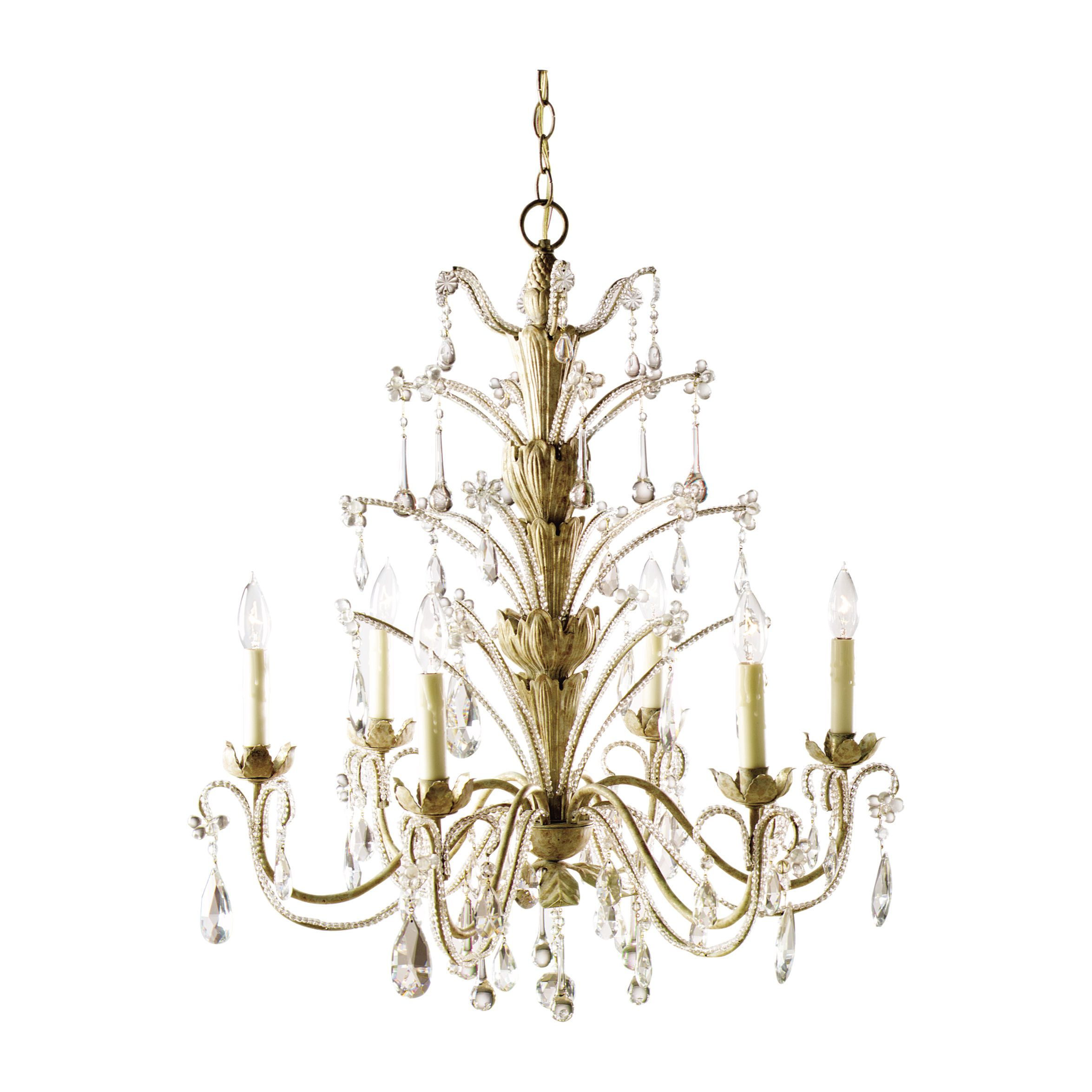 Six Light Elizabeth Chandelier Ethan Allen US I was lucky enough