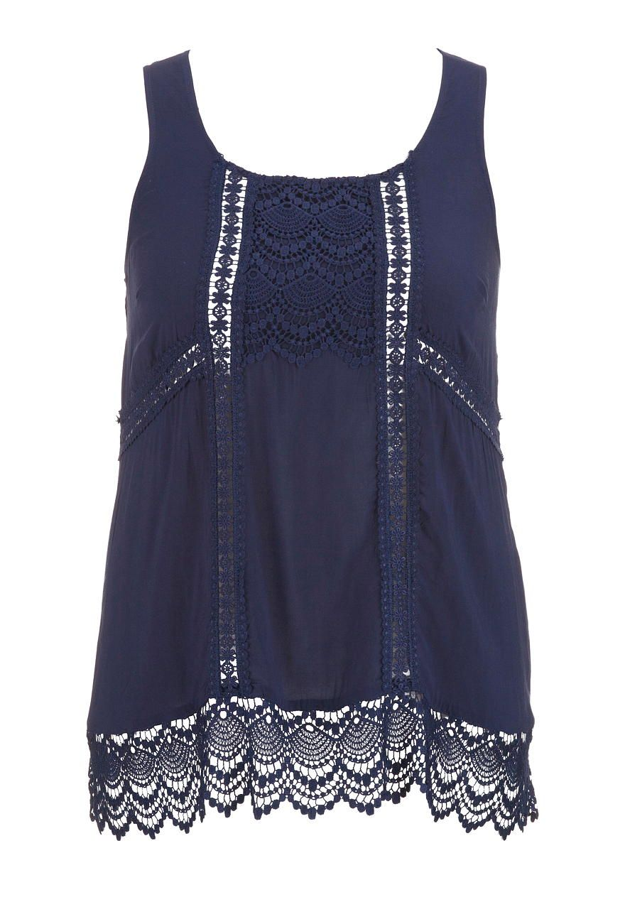 open crochet plus size tunic tank - maurices.com
