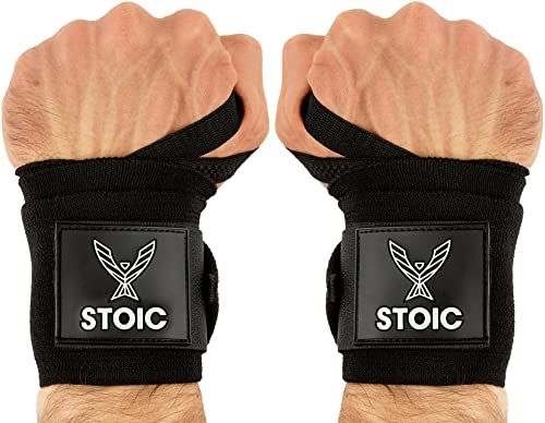 Photo of Enjoy exclusive for Stoic Wrist Wraps Weightlifting, Powerlifting, Cross Training, Bodybuilding  Thumb Loop. Professional Grade  Gym Workout, Men  Women Weight Lifting  Strength Training online – Tophitsgoods