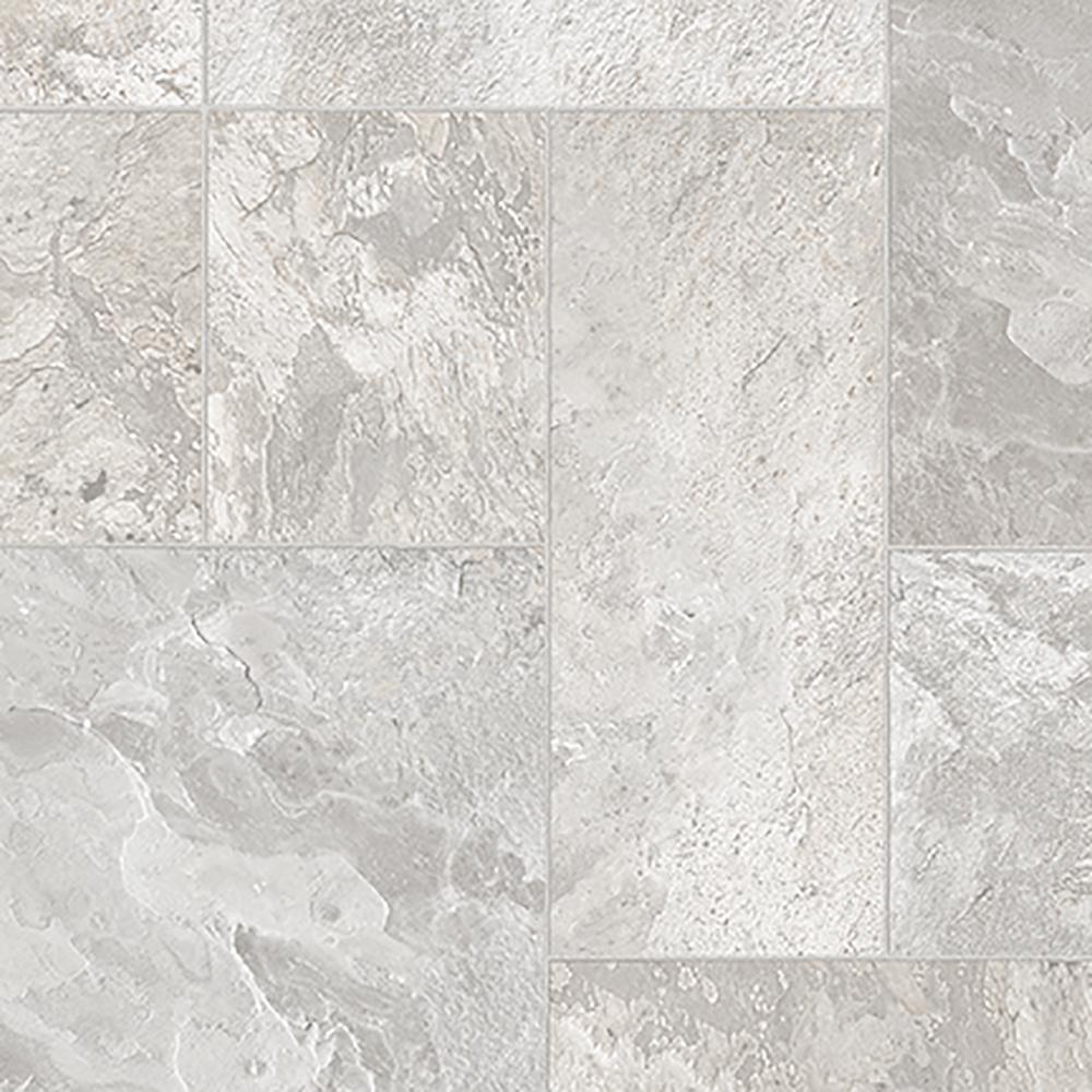Vinyl Flooring Polished Concrete Kitchen Bathroom Felt Textile Backing 2 3 4m