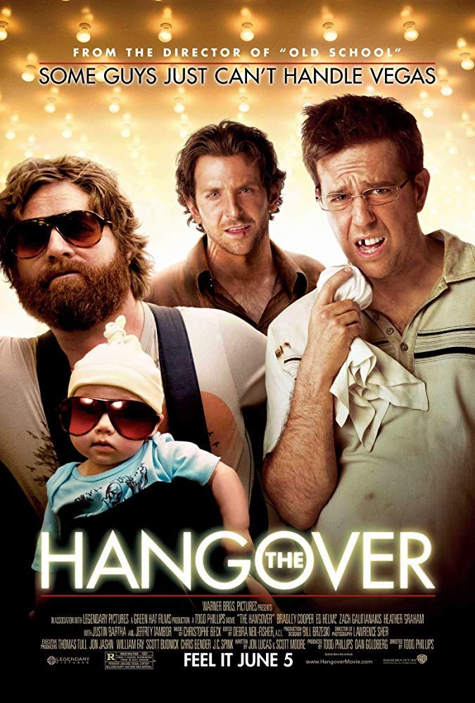 The Hangover (2009) Good comedy movies, Wedding movies