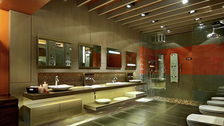 Commercial Bathroom Designs