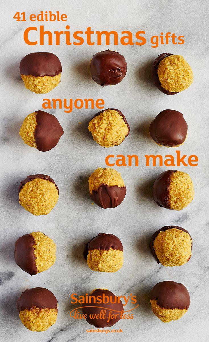 41 edible Christmas gifts anyone can make | Pinterest | Christmas ...