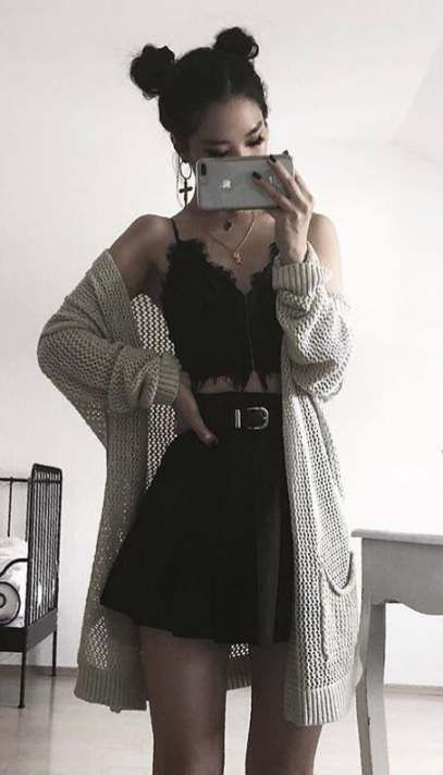 Photo of Fashion Edgy Grunge Sweaters 48+ Ideas For 2019