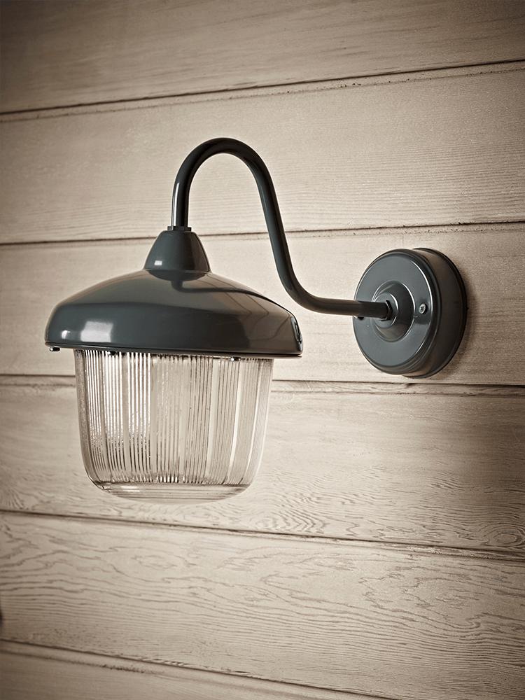 Grey Vintage Swan Neck Light Light Indoor Wall Lights Wall Lights