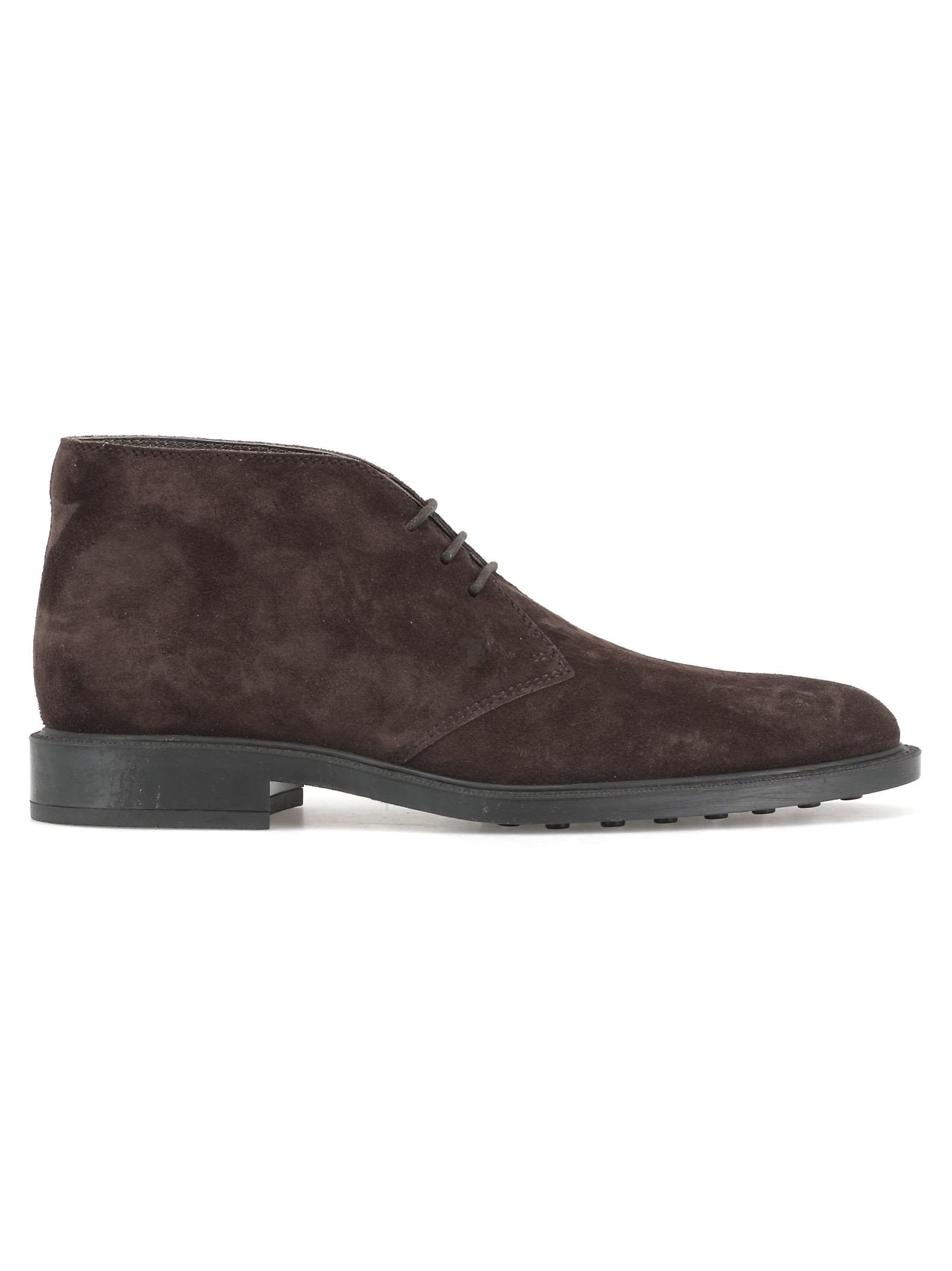 f3e91a0db6d TOD'S LEATHER DESERT BOOT. #tods #shoes | Tod'S in 2019 | Desert ...