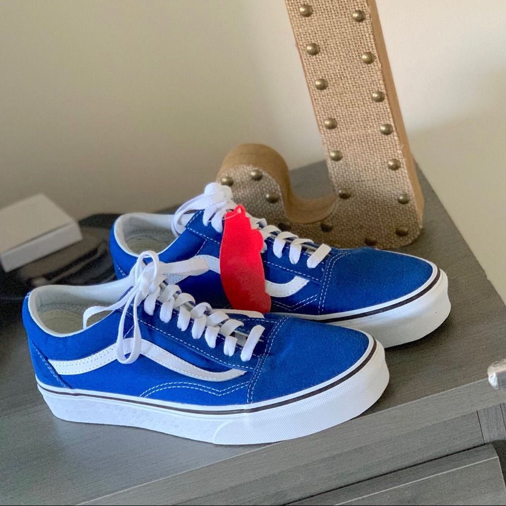 Vans Old Skool Lapis Blue Sneaker in