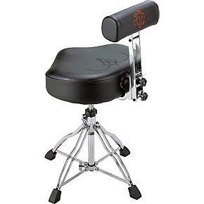 Ergo Rider Throne With Backrest Drum Stuff Drum Throne