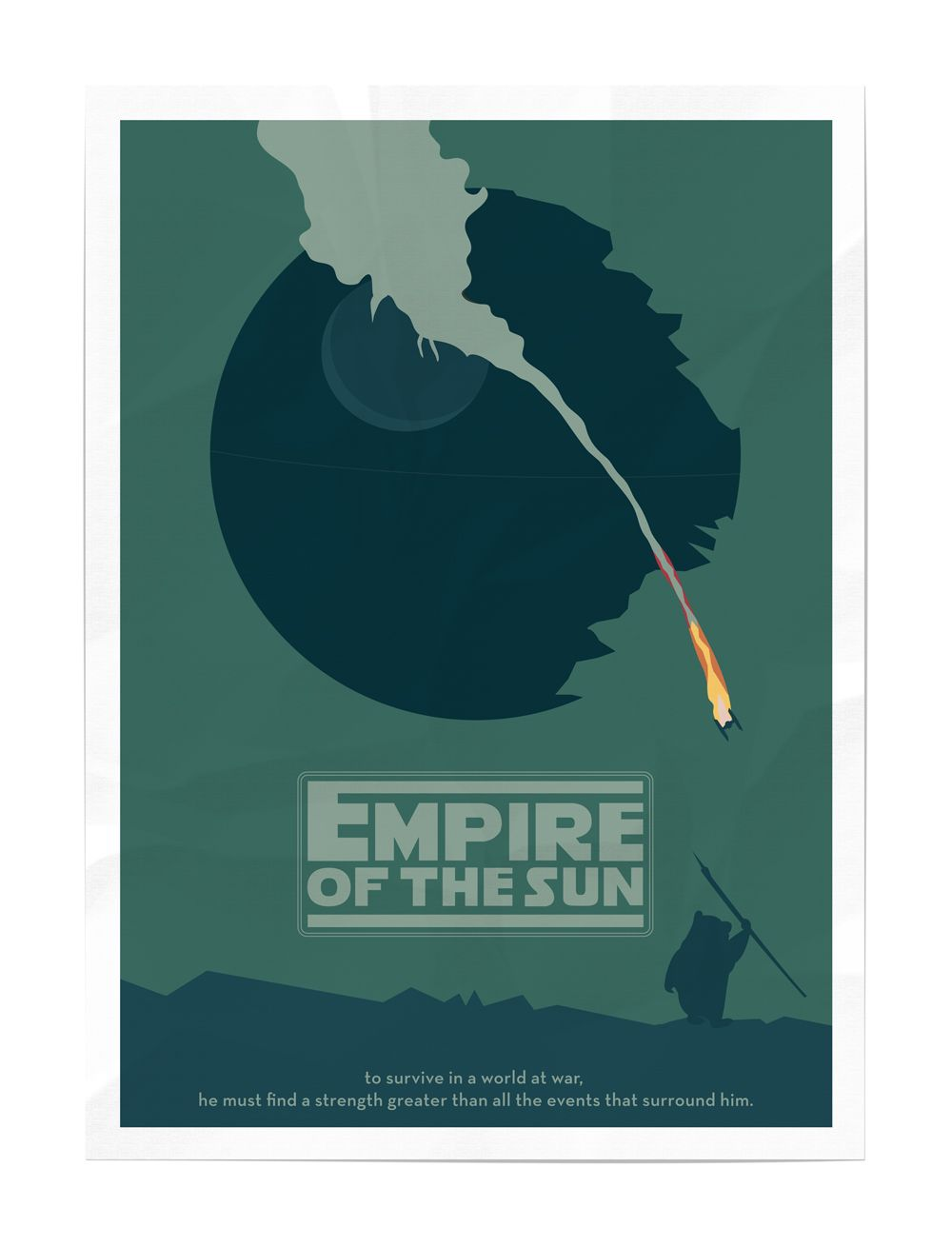 Famous Movie Posters Re-Imagined for Star Wars | Star, Movie and ...