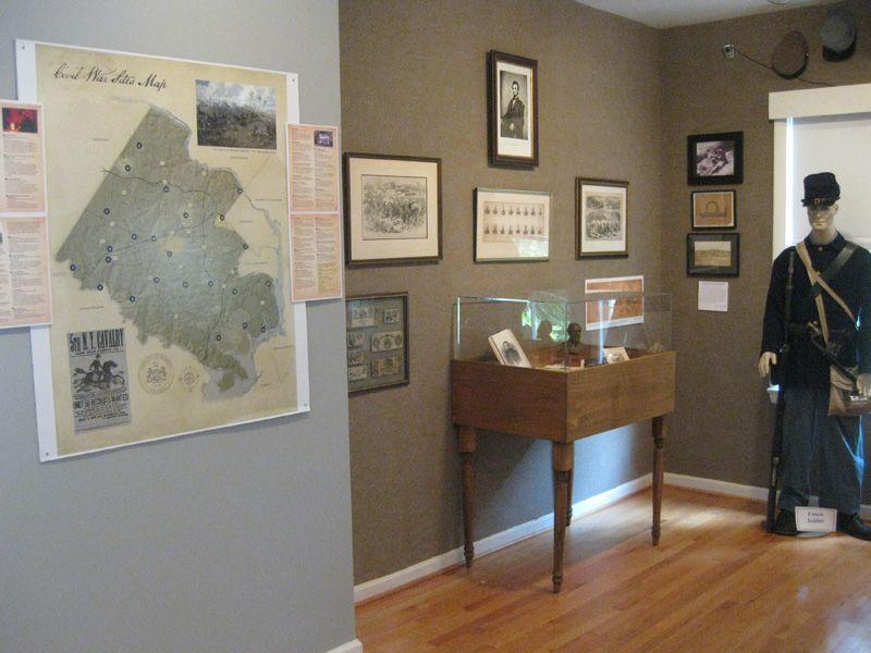 December 2012 Historic Vienna Civil War exhibit