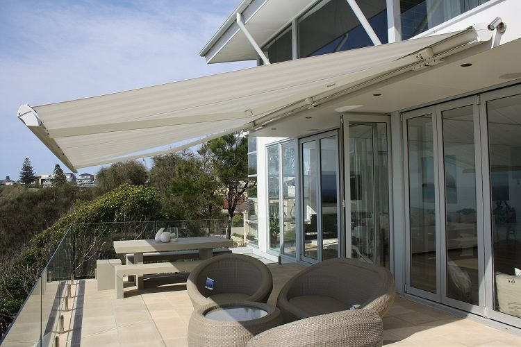 Retractable Awning VS Outdoor Blinds For Patio #LivingRoomBlinds