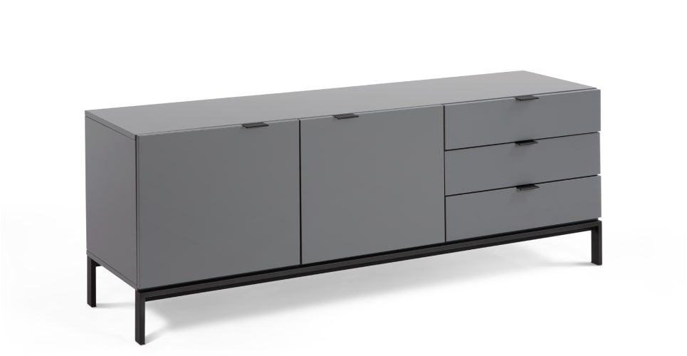 Made Sideboard Grau Sideboard Cabinet Furniture Dining Furniture