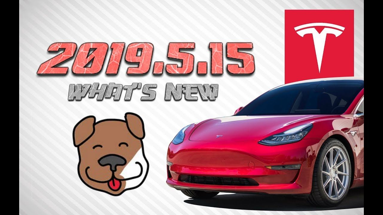 Tesla 2019 5 15 What S New Sentry Mode Dog Mode Dog Mode Tesla Whats New