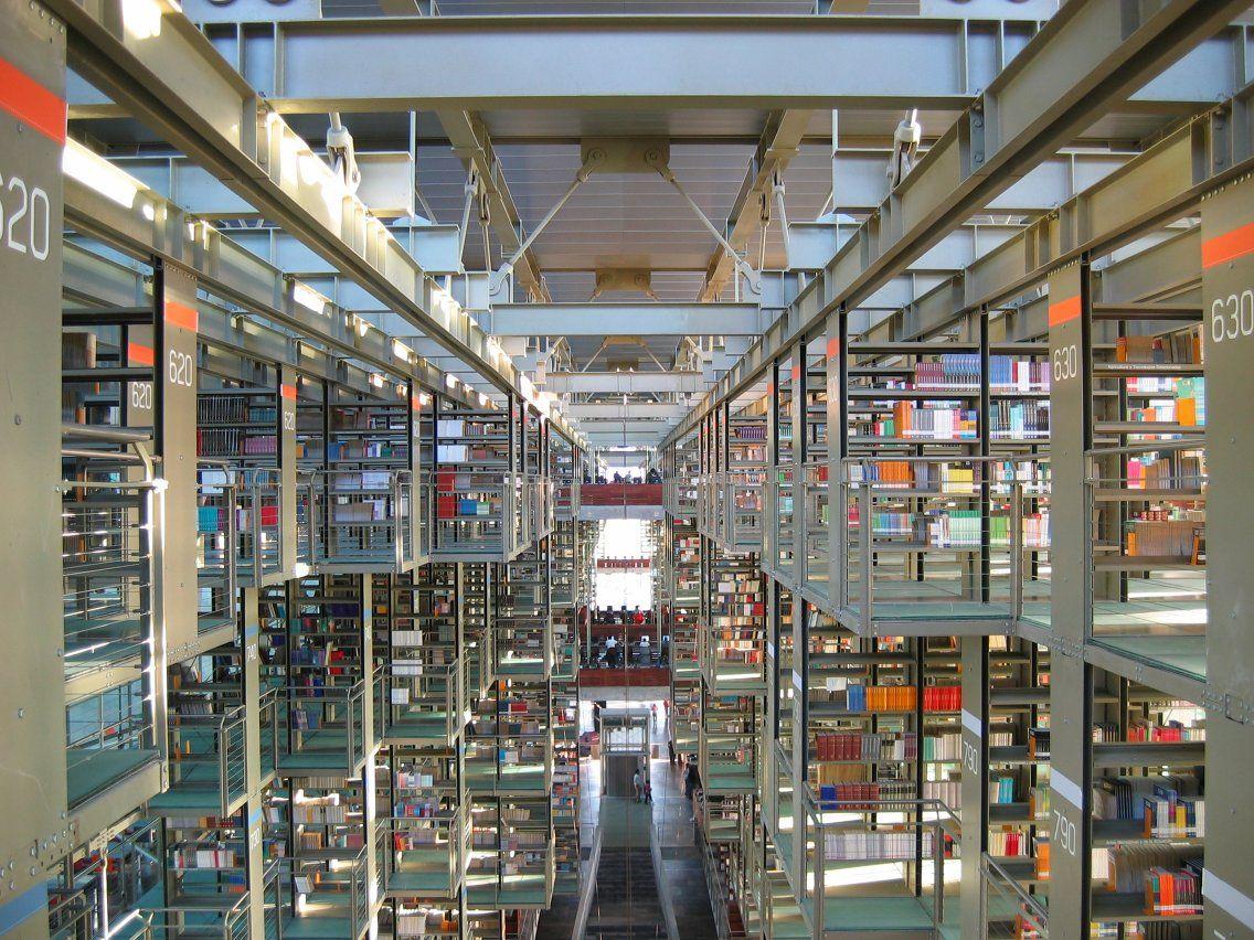 Biblioteca Vasconcelos En La Ciudad De Mexico Jose Vasconcelos