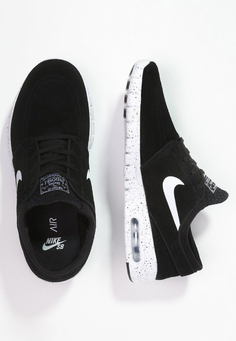 fa0a414b6ba Nike SB STEFAN JANOSKI MAX - Trainers - black white for £95.00 (03 02 16)  with free delivery at Zalando