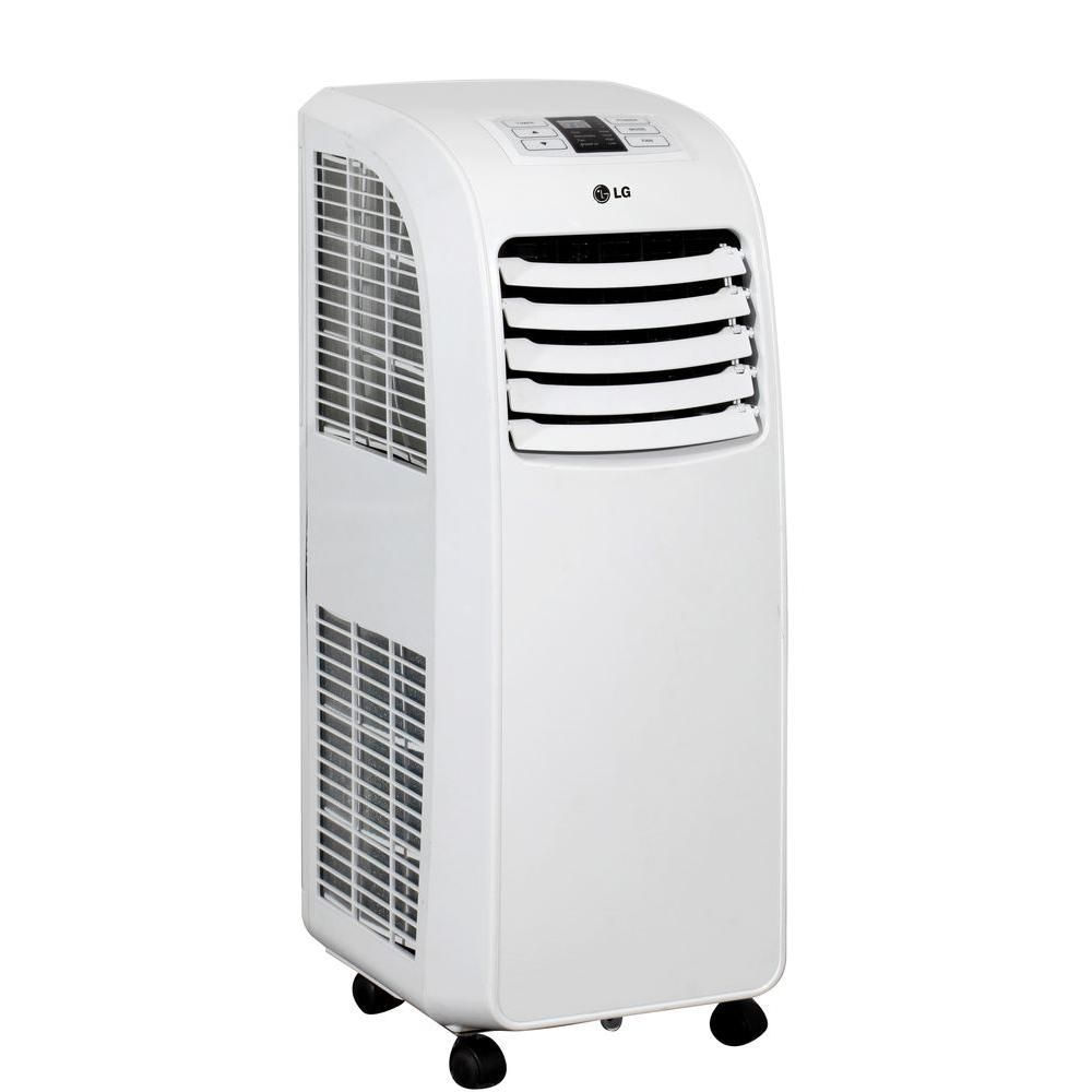 Lg Electronics 8 000 Btu Portable Air Conditioner And Dehumidifier Function With Remote Lp0815 Portable Air Conditioner Portable Air Conditioners Dehumidifiers