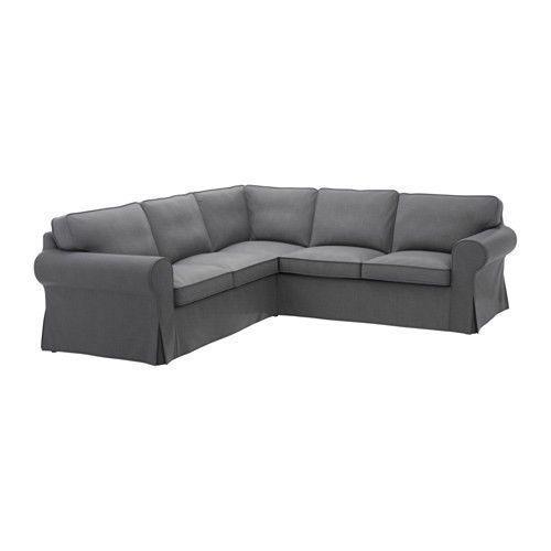 Slipcovers 175754 Ikea Ektorp 4 Seat Sectional (Corner Sofa - ikea ektorp gra
