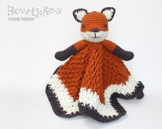 Foxy Fox Lovey CROCHET PATTERN Instant Download