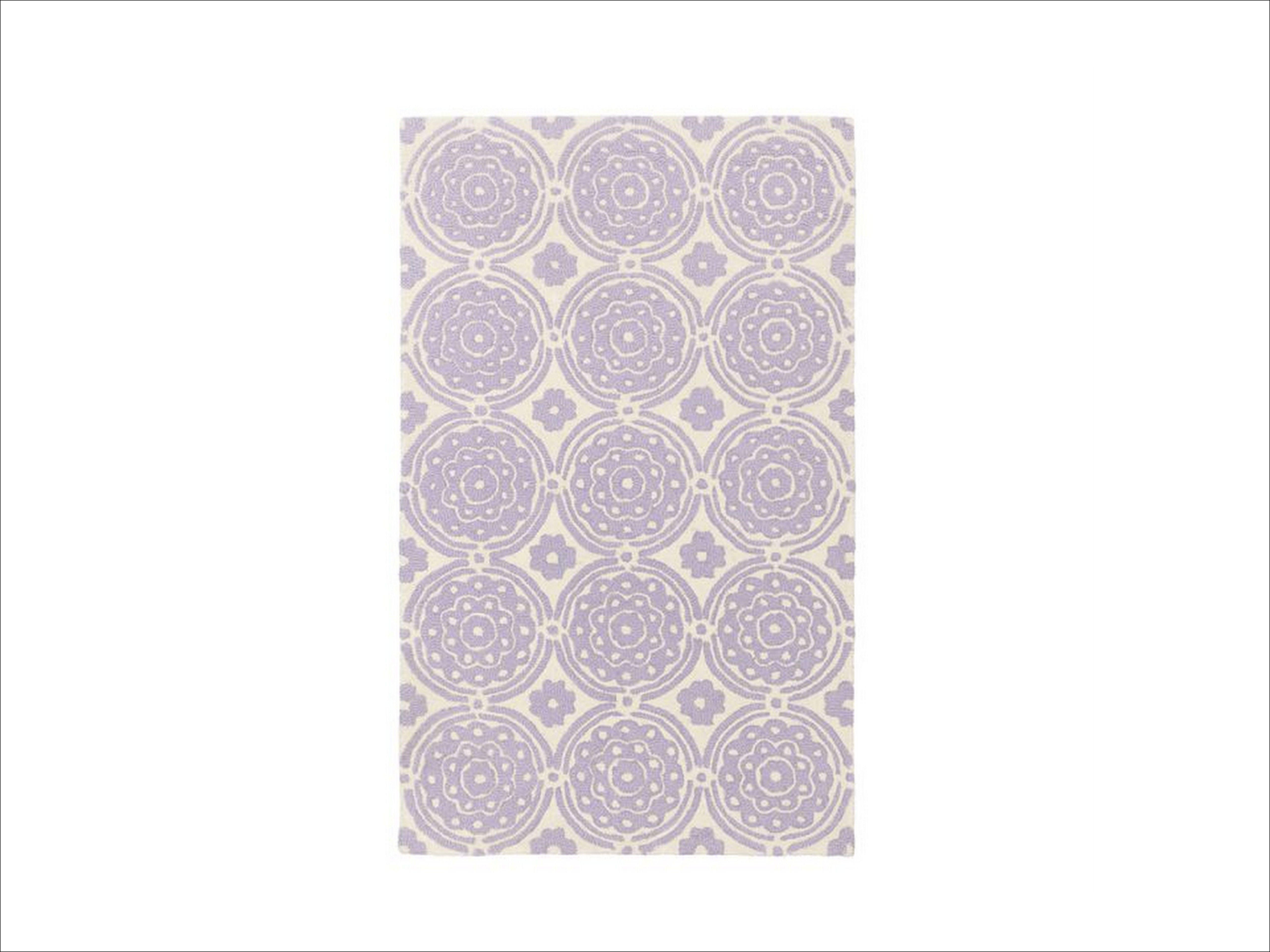 Lavender Rug For Nursery