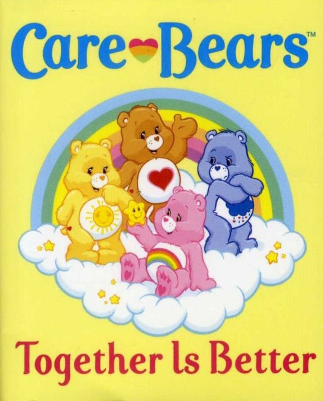 Care Bears Friends Friendship Together Is Better