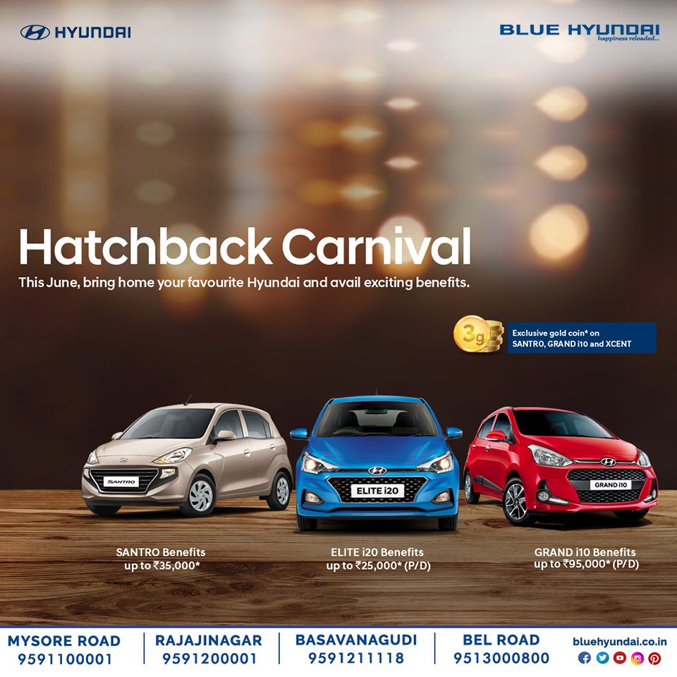 Hyundai Brings You The Biggest Hatchback Carnival This June Bring Home Your Favourite Hyundai Car And Get Exciting Benefits With Images Hyundai Hyundai Cars Hatchback