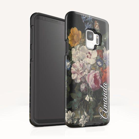 Vintage Floral Samsung S10 Plus case Galaxy Note 10 Plus case | Etsy