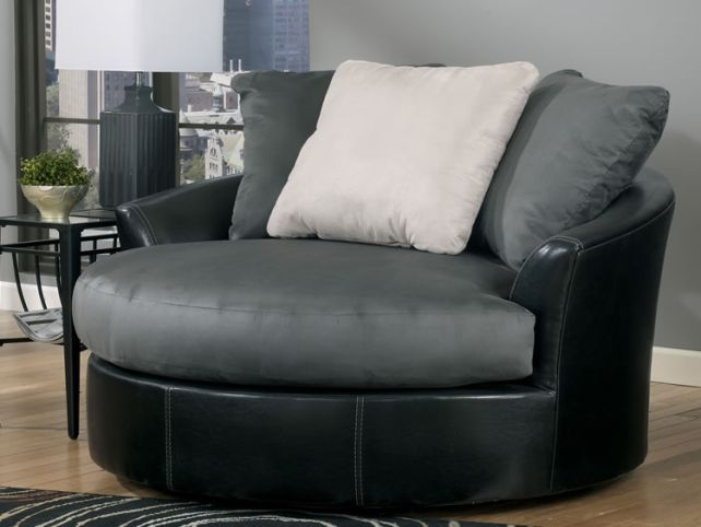 Round Swivel Chair With Cup Holder Round Swivel Chair