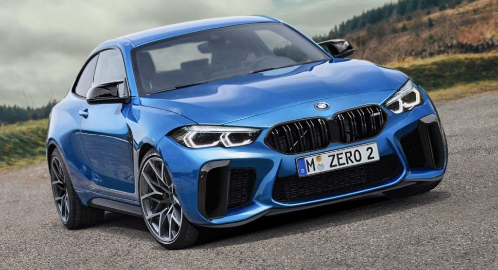 2022 Bmw M2 Could Look Epic If It Doesnt Adopt Massive Grilles Bmw Bmw M2 New Bmw