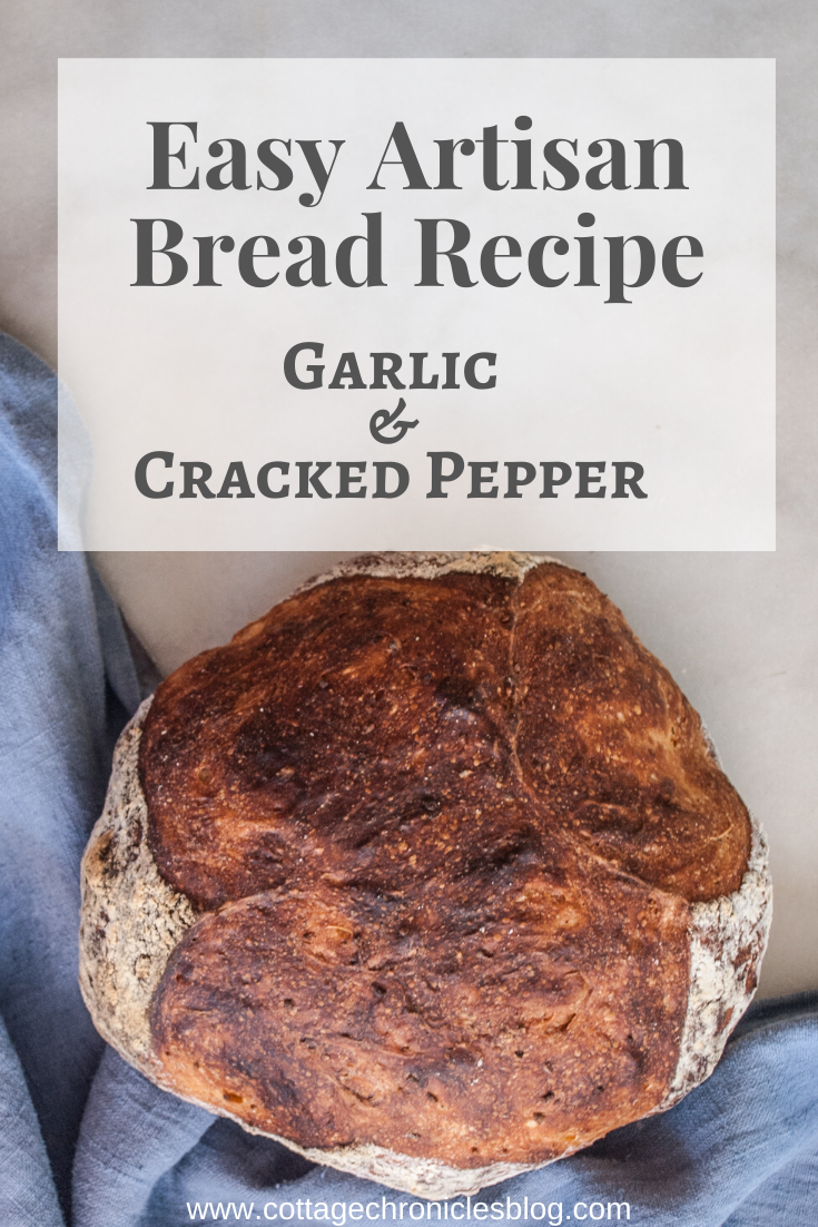 No Knead Garlic Bread. Easy Bread recipe that anyone can ...
