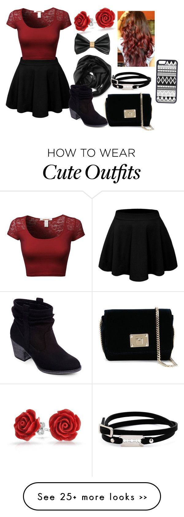school outfit by mikaangelicalatigay on Polyvore featuring moda, Bling Jewelry, H&M, Calvin Klein, McQ by Alexander McQueen, Rocket Dog, Jimmy Choo e CellPowerCases #outfits4school