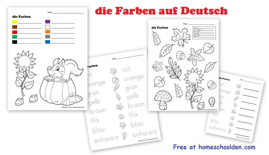 die-farben-auf-deutsch-free-worksheet | Homeschool - Germany ...