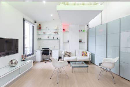 Schau Dir dieses großartige Inserat bei Airbnb an Design Flat in