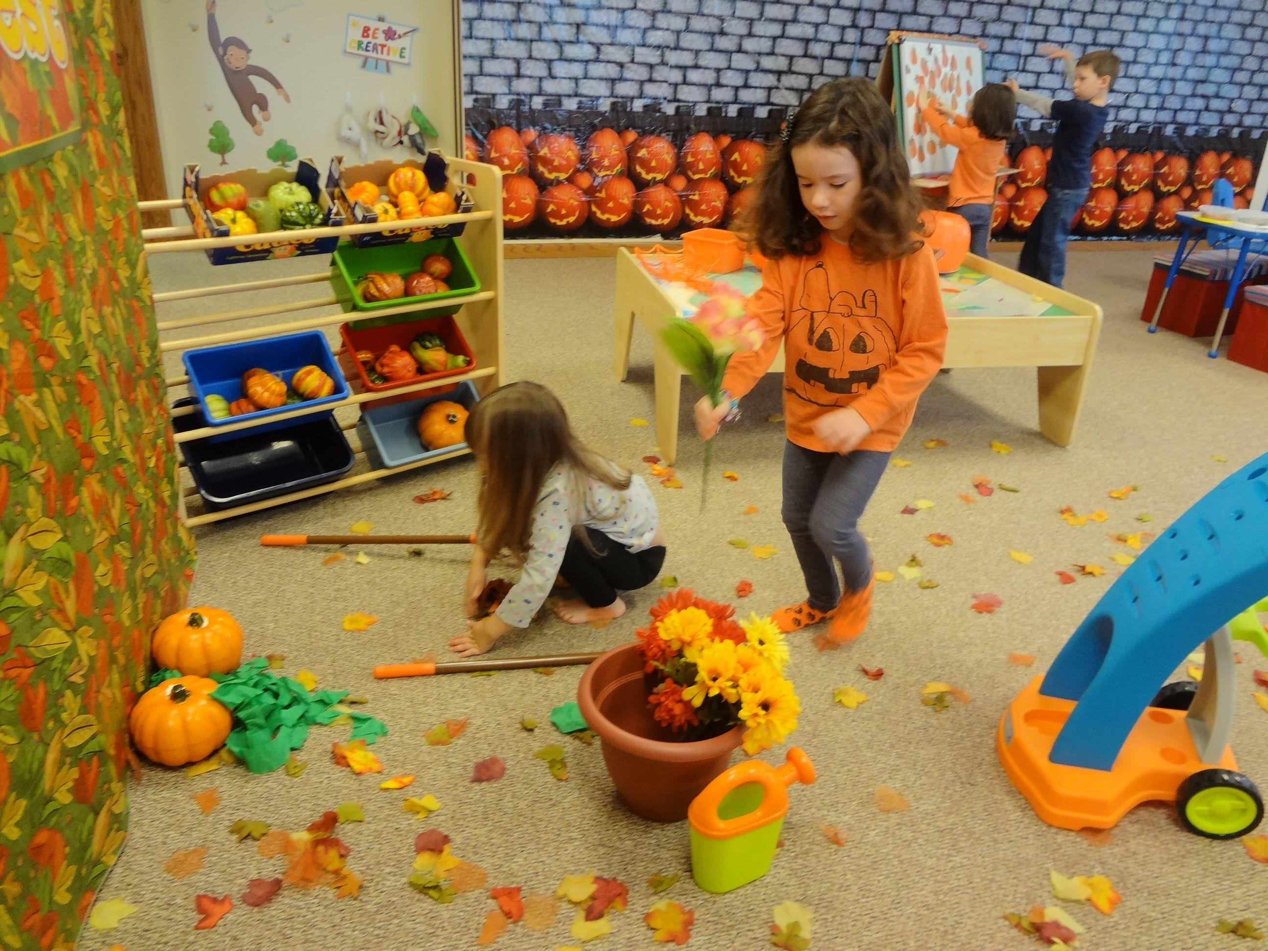 Dramatic Play Pumpkin Patch