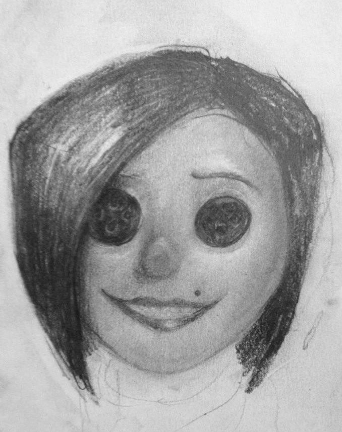 The Other Mother Coraline Drawing Inspiration Art Coraline