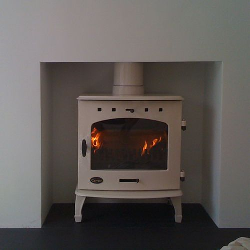 Riva Plus Small Woodburning Stove Clean And Simple Woodburner | Fireplace | Kitchen Living