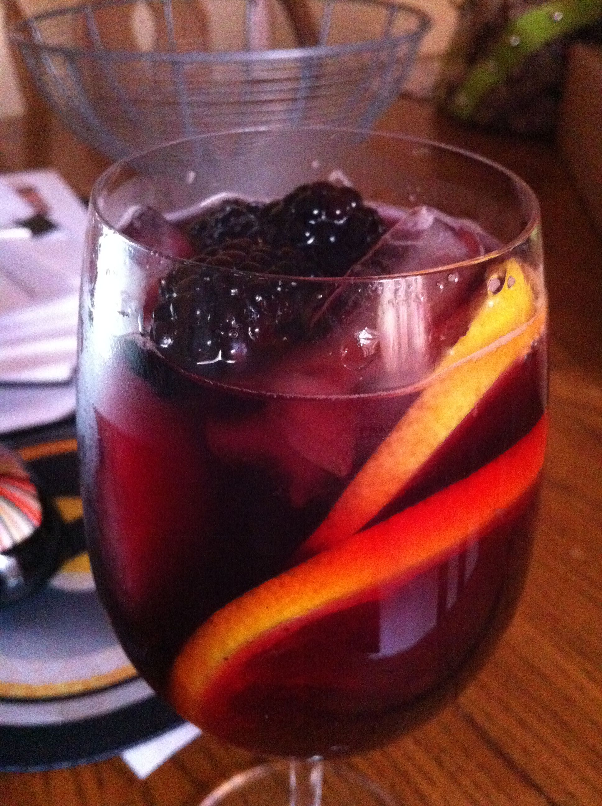 Blackberry Sangria Best Ever 1 1 2 Liters Bisanzio Or Other Sweet Italian Red Wine 14oz Cranberry Juice Not Blackberry Sangria Sangria Blackberry Syrup