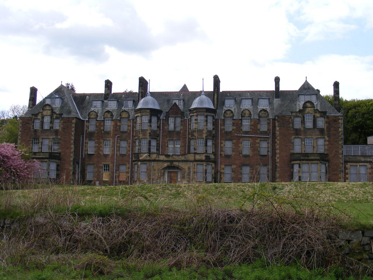 Bangour Village Hospital Located In West Lothian Scotland It Was