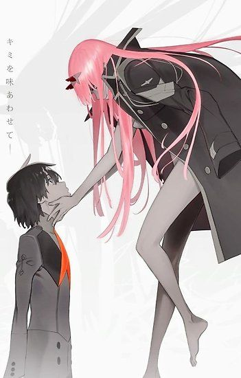 Darling in the FranXX: Hiro and Zero Two Poster