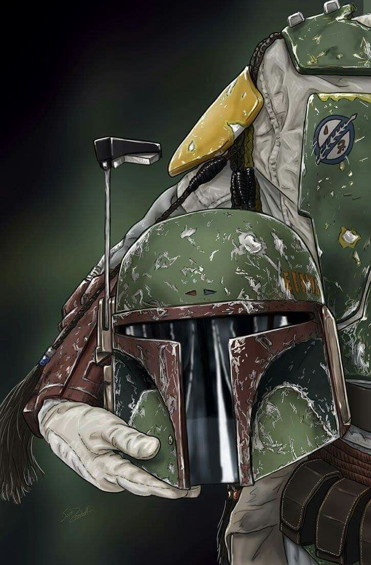 Helmet Series: Boba Fett by Scott Zambelli | My Art | Pinterest