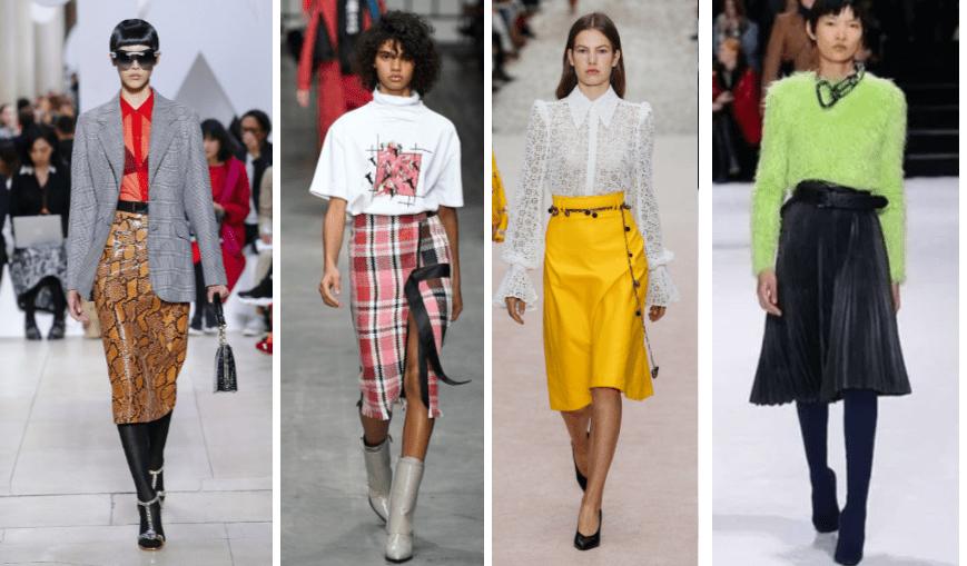 Faldas midi en todas las tendencias del Otoño Invierno 2018 19 Falda midi   faldas  moda  mujer  outfits  faldamidi  faldasinvierno  style  shopping   fashion ... 09766dc55762