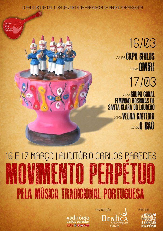 08cfc5c71f7 Movimento Perpétuo pela música popular portuguesa Auditório Carlos Paredes