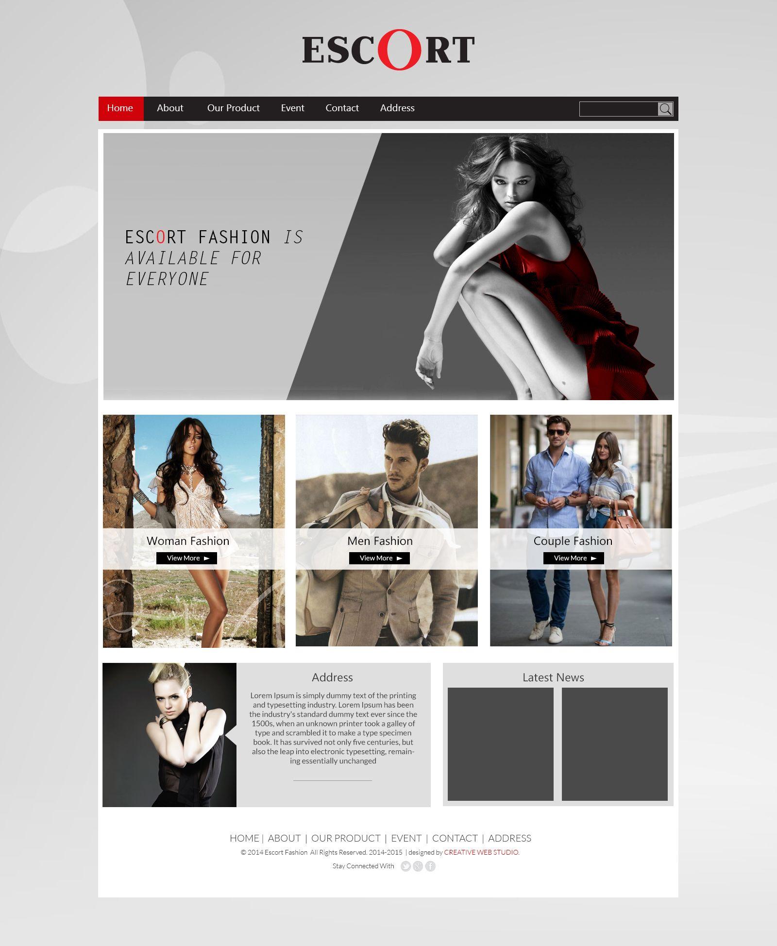 cheap escort web design