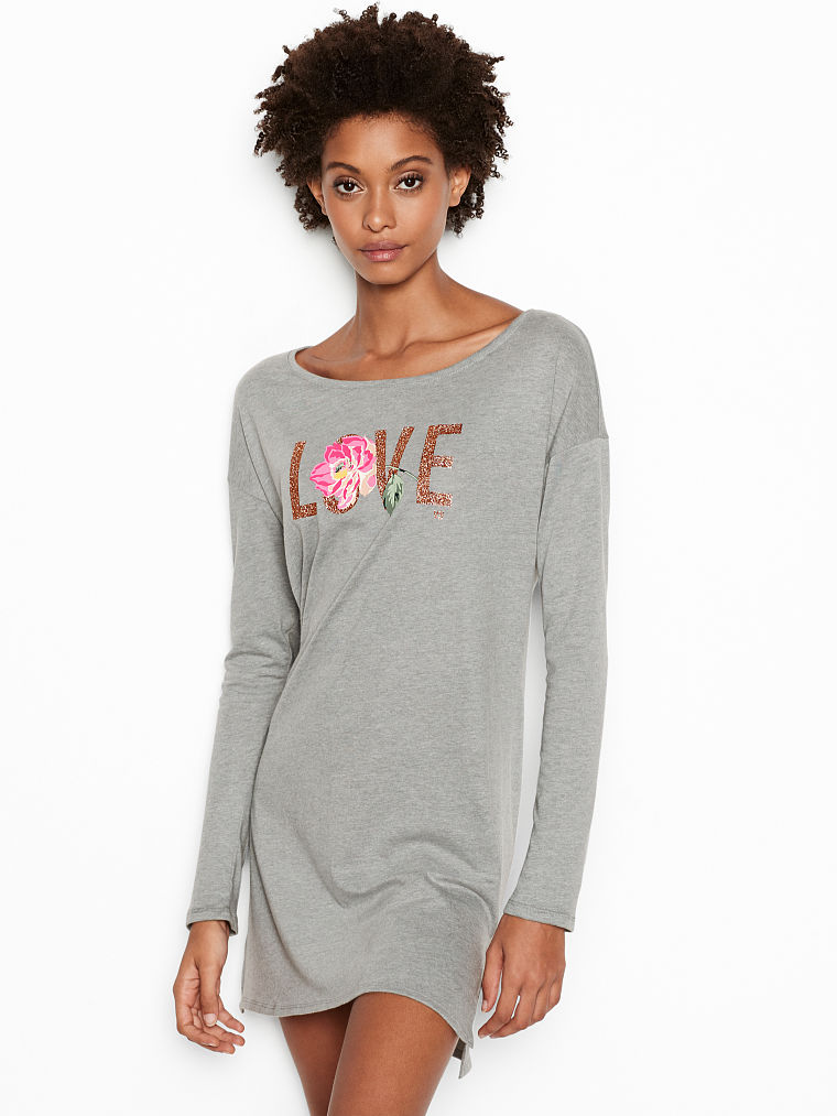 c5b228b98 Victoria s Secret The Angel Long-sleeve Sleepshirt