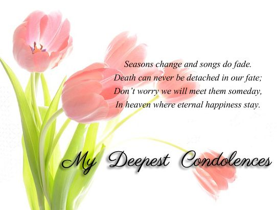 Condolence Messages  Condolences Messages And Grief